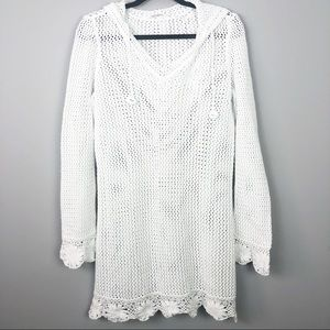 Athleta | White Knit Cover Up